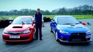 Mitsubishi Evo vs. Subaru <b>Impreza</b> (HQ) | Top Gear - YouTube