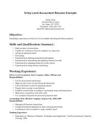 Entry Level Resume Samples 21 Sample Resume For Entry Level