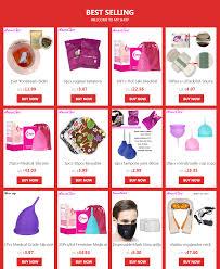 Coletor <b>Menstrual 2Pcs</b> Medical Grade Silicone Hygiene <b>Menstrual</b> ...