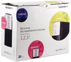 <b>Источник бесперебойного питания IPPON</b> Back Office 600