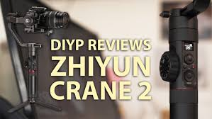 DIYP reviews the <b>Zhiyun Crane 2</b> motorised 3-axis <b>gimbal</b> stabiliser ...