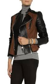 Shop on-sale <b>Roberto</b> Cavalli Studded leather <b>jacket</b> . Browse other ...