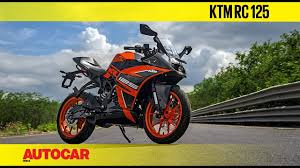 <b>KTM RC 125</b>   First Ride Review   Autocar India - YouTube