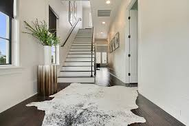 animal hide rugs staircase contemporary with animal hide rug black animal hide rugs home office