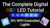 <b>Control</b> Any <b>LED Light</b> Strip With Your Phone (Works with Alexa ...