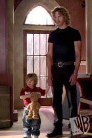 unknown to the charmed ones baby wyatts new imaginary friend is actually the demon vicus who is trying to win wyatts trust to turn him evil piper charmed leo piper valentines