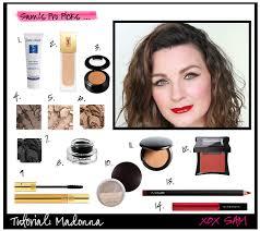 80s makeup long l keywords madonna tutorial