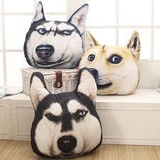 modern 3d animals back seat cushion big pillow sofa animal dog cat big pillow sofa accessories furniture funny