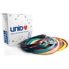 Купить Пластик для 3D ручки <b>UNID</b> PLA12 (12 цветов по 10м) в ...