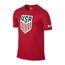 Nike Usa <b>Evergreen</b> Crest <b>Mens Crew</b> Neck <b>Short</b> Sleeve T-Shirt ...