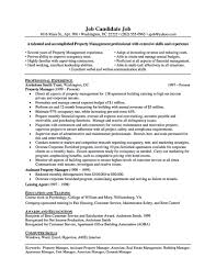click here to this property manager resume template property manager resume should be rightly written to describe your skills as a property manager