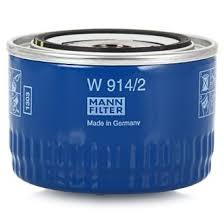 <b>Фильтры</b> - <b>Масляный фильтр MANN</b> W 914/2 (<b>Германия</b>)