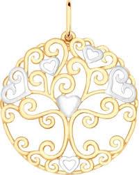 Серебряный <b>кулон медальон SOKOLOV</b> 93030297_s — купить в ...