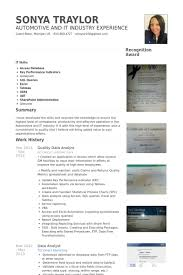 data analyst resume samples   visualcv resume samples databasequality data analyst resume samples