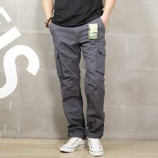 Online Shop <b>ICPANS</b> Cargo Pants Loose Black Khaki Cargo Pants ...