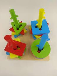 <b>Конструктор</b> деревянный сортер геометрический <b>Wooden Toys</b> ...