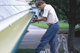 fixing the gutters