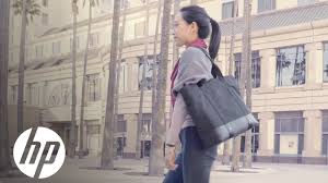 Introducing The <b>HP ENVY</b> Tote | <b>HP ENVY</b> | HP - YouTube