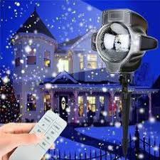 <b>IP65 Snowfall Projector Moving Snow</b> Outdoor Garden Laser ...
