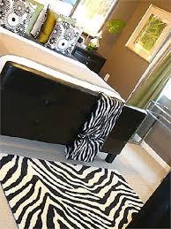 view full size black white zebra bedrooms