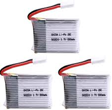 1/2/3PCS 3.7V 500mAh 25C 1S LiPo Battery for ... - Amazon.com