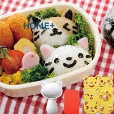 <b>New 4Pcs</b>/<b>set</b> Kawaii <b>Cat</b> Rice Ball Mold Sushi Egg Chocolate Mold ...