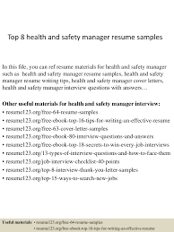 tophealthandsafetymanagerresumesamples conversion gate thumbnail jpg cb