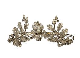 Gold, silver and <b>diamond tiara</b>, made by Hunt & Roskell — Google ...