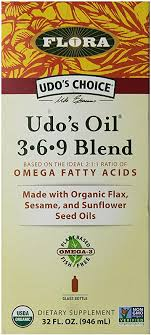 UDOs Choice Oil 3.6.9 Blend in a Glass Bottle: Health ... - Amazon.com