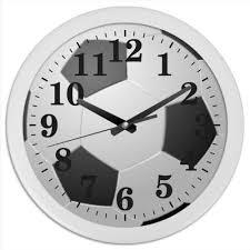 Часы круглые из пластика Мяч #378069 от Nalivaev | Часы ...