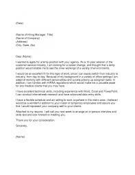 cover letter for recruitment agency ezmonco resume ideas cover gallery of cover letters to recruitment agencies