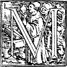 m initial capital letter m from dance of death alphabet 2575x2566 1m jpg