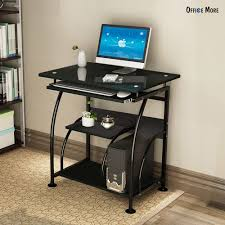 home office pc corner computer desk laptop table workstation furniture black black home office laptop desk furniture