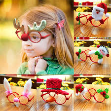 Rondaful <b>Christmas Decorations</b> Christmas Lovely <b>Cartoon</b> Glasses ...