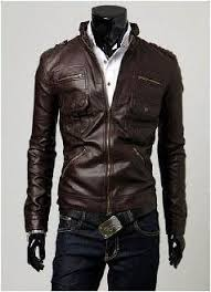 <b>Men's Classic PU Leather</b> Jacket with Pockets $35 | Clothing needs ...