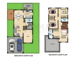 Aurora Model House in Metrogate Centara Tagaytay   Moldex Realty    Ground Floor Plan