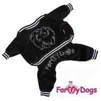 <b>For My Dogs Костюм</b> Spitz велюр, черный (113SS-2014 ...