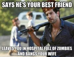 "The Walking Dead"" Memes Of 2nd Season - humorsharing.com via Relatably.com"