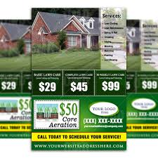 lawn care direct mailer 1 the lawn market lawn care