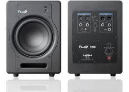 """<b>Fluid Audio</b> F8S компактный <b>сабвуфер</b> с динамиком 8 """", 200 Вт ..."""