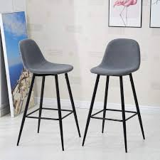 TUKAILAI <b>Bar Stools</b> Set of <b>4 pcs</b> Barstoo- Buy Online in Greenland ...