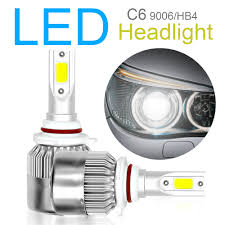 <b>Car Led HeadLight</b> Bulb <b>C6</b> 9005 COB LED 3000LM 6000K ...