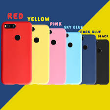 Xiaomi MI 5X Mi <b>A1</b> Casing Candy <b>Color</b> Soft <b>Silicone</b> TPU ...