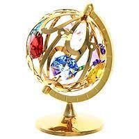 """Миниатюра """"<b>Глобус</b>"""", цвет: золотистый, 7 см — купить в ..."""
