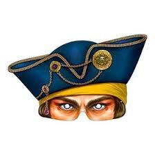 Карнавальная <b>маска</b> «<b>Пират</b>», на резинке (4562144) - <b>Сима</b>-<b>ленд</b>
