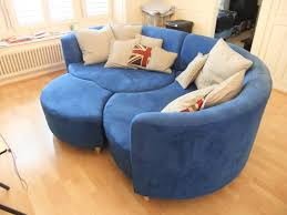 blue sofas living room: leather ideas chesterfield couch furniture leather sectional sofa inspirational creative design round shape sectional blue vinyl  for convenient inspiration livingroom and cushions as decorate room furniture living room photo pret