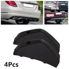 4X PVC <b>Car</b> Rear <b>Bumper</b> Diffuser <b>Molding</b> Point Garnish ...
