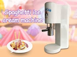 <b>XEOLEO</b> Spaghetti Ice cream maker 4 types Ice cream forming ...