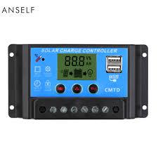<b>10A</b>/<b>20A</b>/<b>30A 12V</b>/<b>24V</b> LCD Solar Charge Controller with <b>Auto</b> ...
