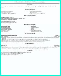 simple construction superintendent resume example to get applied construction management